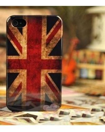 Case iPhone 4 4s Bandeira Reino Unido-  Original