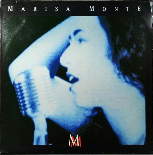 Marisa Monte Lp Comida, Negro Gato + Encarte 1989 N.353 Original