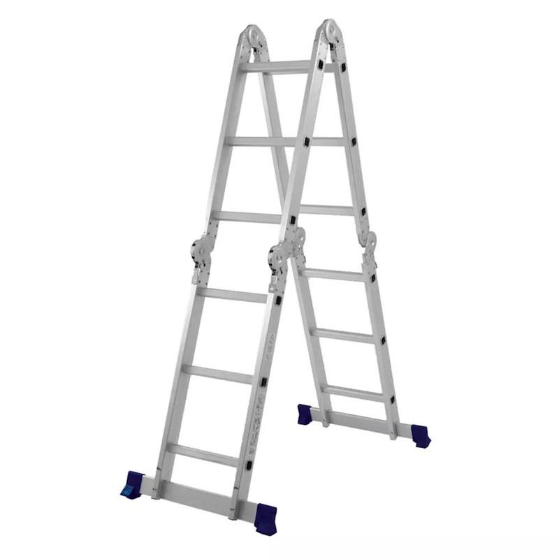 Escada Multifuncional 4x3 12 Degraus 005131 - Mor