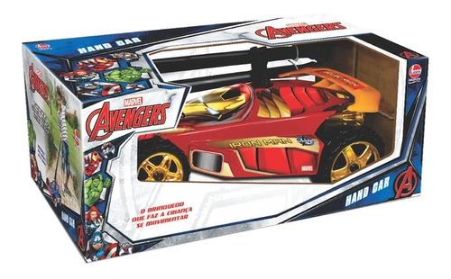 Brinquedo Veiculo Hand Car Marvel Homem De Ferro Lider 2937 Original