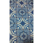 Vinil Adesivo Azulejo Português Papel Parede Com 0, 45m X 4m