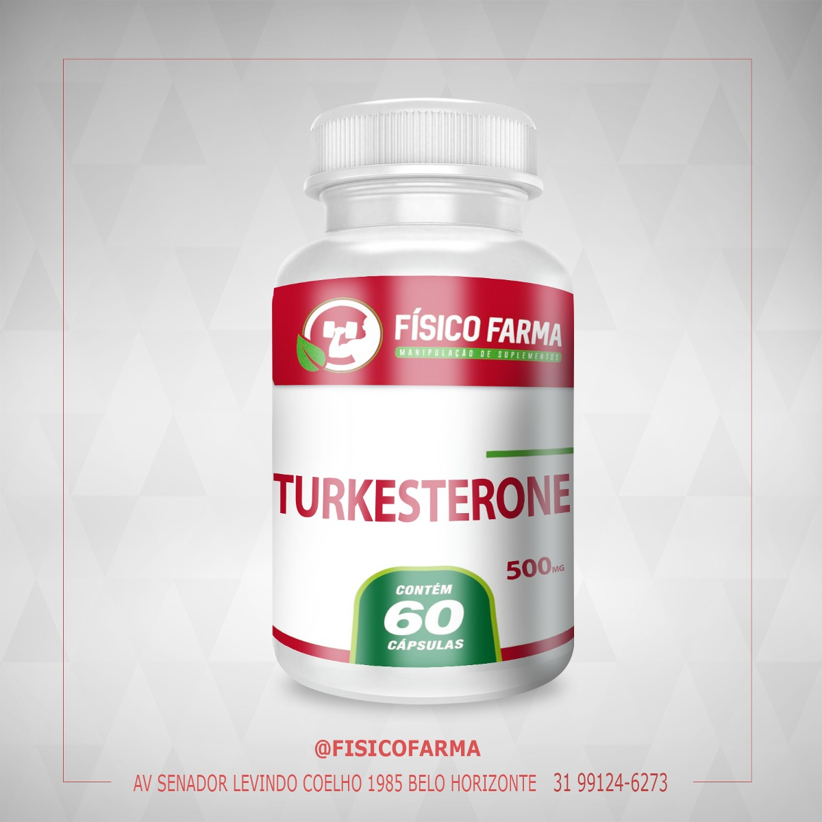 Turkesterone  500MG -  60 CÁPSULAS