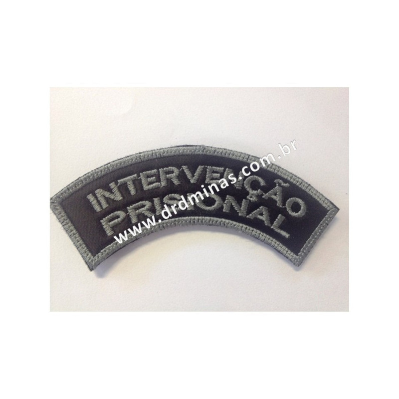 Patch / Distintivo Bordado Intervenção Prisional - U
