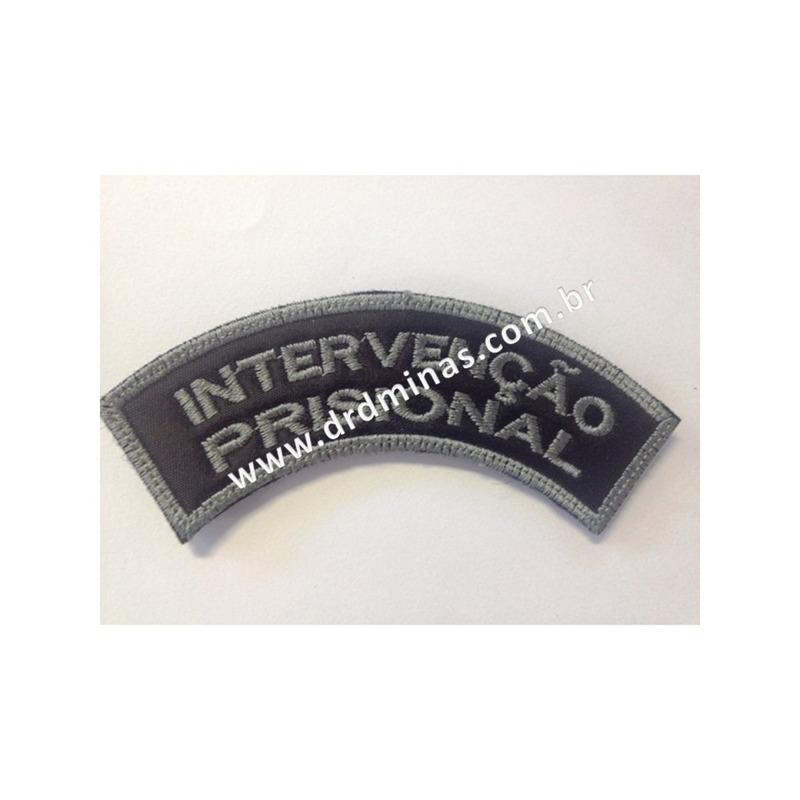 Distintivo Bordado Intervenção Prisional - U