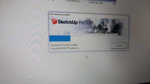 Programa Sketchup Pro 2018 Original