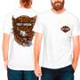 Camisa Camiseta Harley Davidson Gavião Motos Rock
