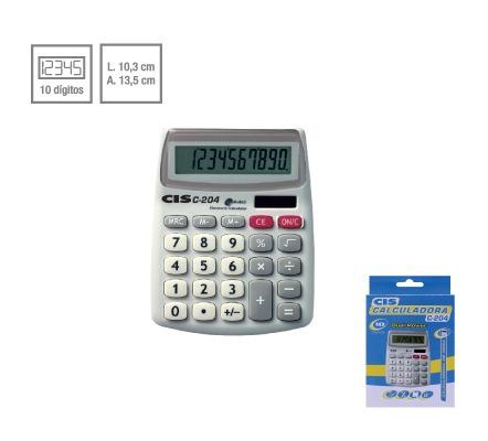 Calculadora De Mesa Cis C-204 Sertic Original
