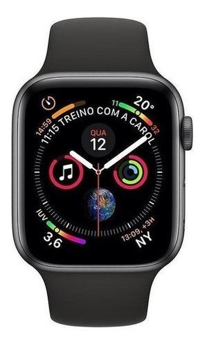 Apple Watch Serie 4 44mm Gps Aluminio Cinza Espacial Pulse Original