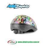 Capacete Ciclista Infantil Smileys - Kidzamo