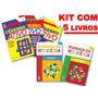 Kit Desenvolva Sua Inteligência Cérebro Ativo 5 Livros