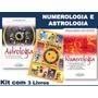 Kit Numerologia E Astrologia 3 Livros