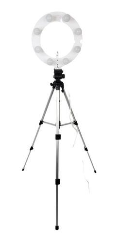 Ilumina Ring Light 08 Soquetes 2em1 Tripé 1,50 + Kit Selfie Original