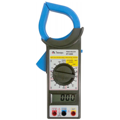 Alicate Amperímetro 1000A AC/ Embalagem Blister-Minipa
