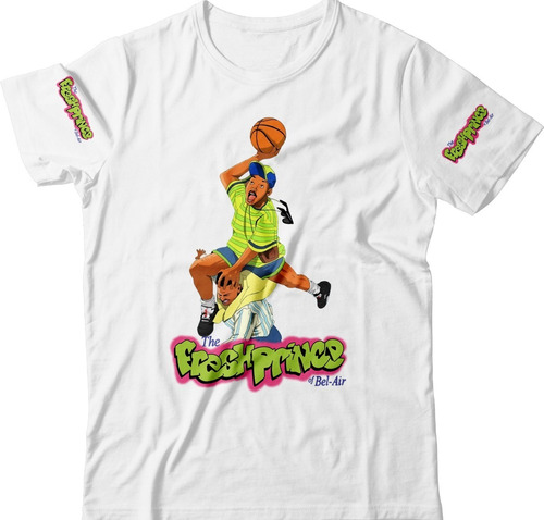 Camisas Camisetas Fresh Prince Will Smith Bronx Rap Swag Hbo Original