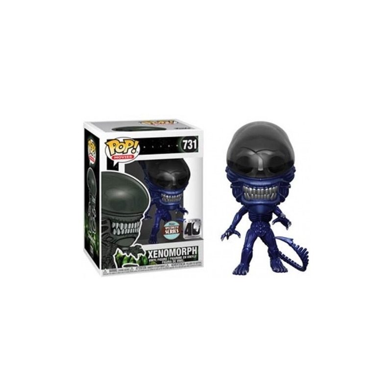Funko Pop Xenomorph #731 Specialy Series Metallic Blue 40th Anniversary - Alien - Movies