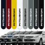 Friso Lateral Mitsubishi L200 Triton 07 A 19 Cor=carro
