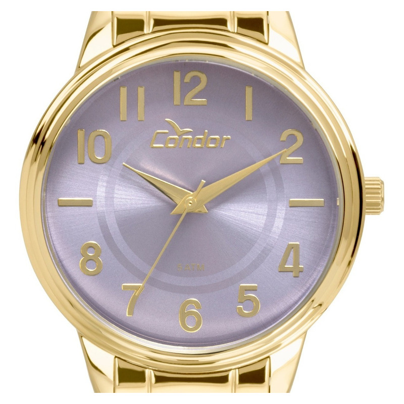0d8d268c08 Relógio Condor Feminino Co2035kuu/k4g Kit Colar E Brincos em São ...