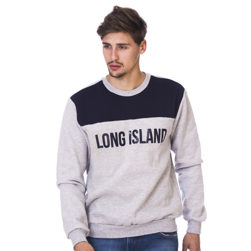 Moletom Long Island CR Cinza