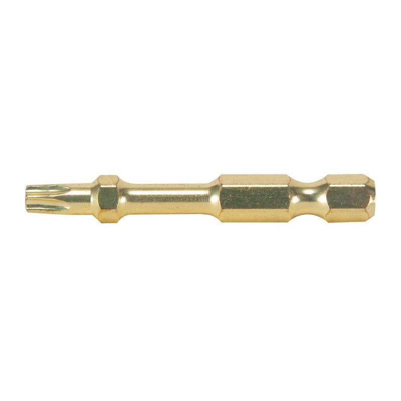 Bit Torx 50 mm Impact Gold com 2 Peças - Makita - B-28254 -  T25<BR>