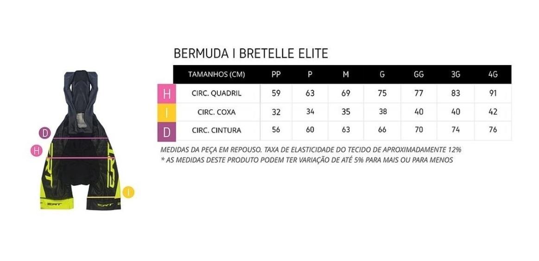 Bermuda Ciclismo Mtb Speed Ert Elite Forro Dual Pro