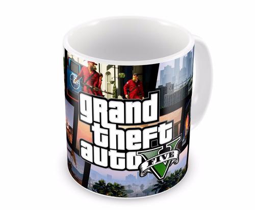 Caneca de Porcelana Grand Theft Auto