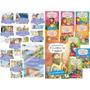 Kit Com 20 Livros Bíblicos 10 Para Colorir E 10 Para Ler