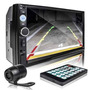 Central Multimídia Mp5 Lcd 2din Bluetooth Camera De Re