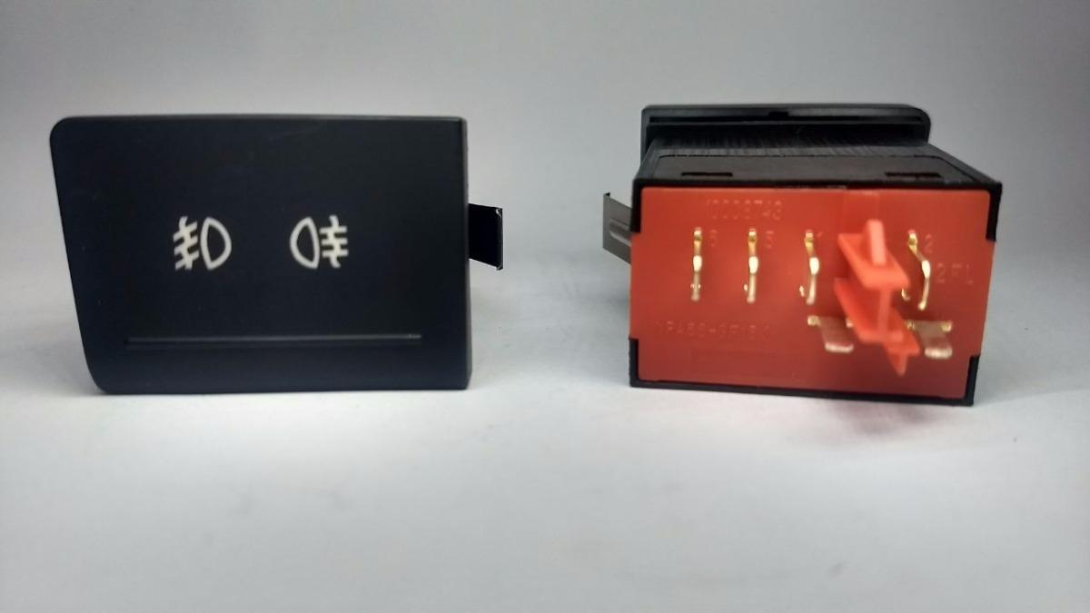 Interruptor Botão Farol De Milha Fox Crossfox  G2617