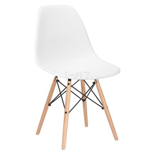 Cadeira Charles Eames Wood - Design -  Dsw Eiffel 12x