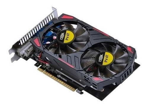 Placa De Vídeo Nvidia Geforce 128bit Gtx 750ti 2gb Dual Fan Original