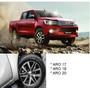 Rodas Toyota Hilux Srx 2018 Aro 17 Bicos Ranger L200