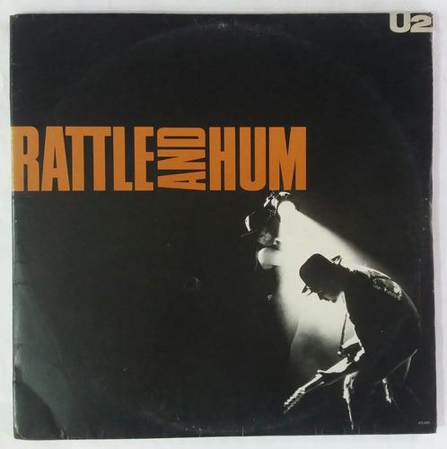 Lp Duplo - U2 Rattle And Hum - C/ Encartes 1988 Island Original