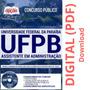 Apostila Assistente Em Administração Concurso Ufpb