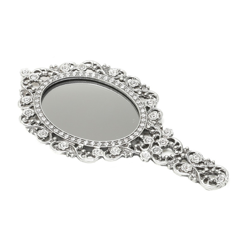 Espelho de Mão com Moldura Secret 21,5X11,5X2Cm - Prestige 31025262