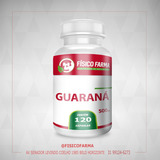 Guaraná 500mg 120 cápsulas (guarana)