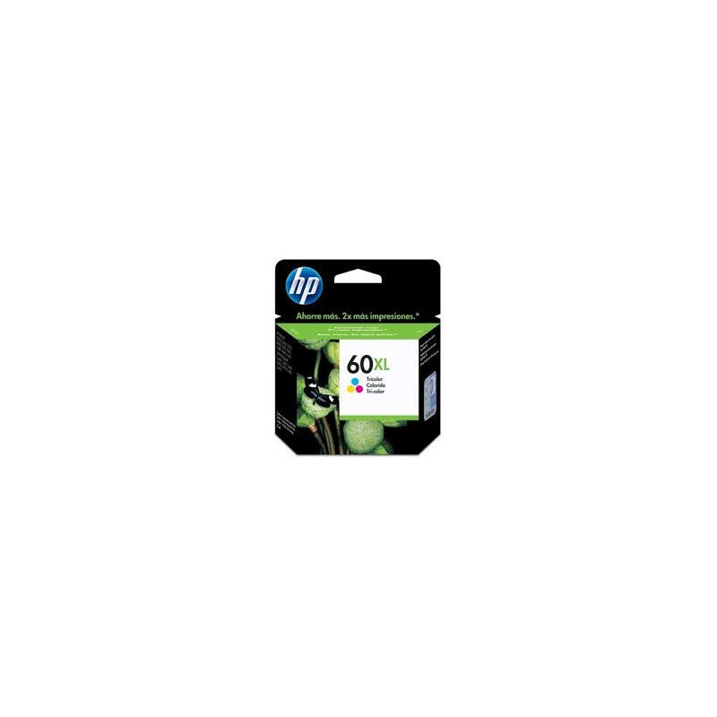 Cartucho De Tinta Cc644wb Hp 60xl Tricolor 15,5ml