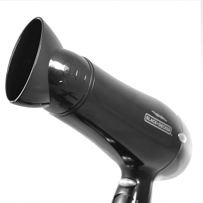 Secador de Cabelos com Difusor de Ar Black+Decker - SC900