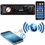 Auto Radio Roadstar 7 Cores Mp3 Player Fm Bluetooth Usb Top