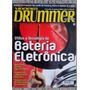 Revista Modern Drummer Nº 10 Bateria Eletrônica