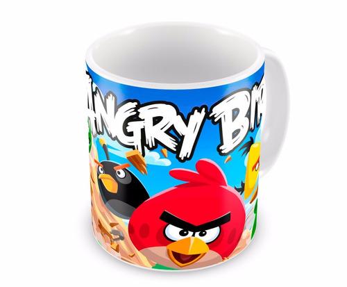 Caneca De Porcelana Angry Birds