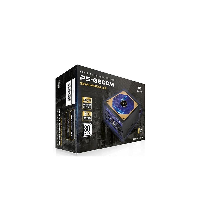 FONTE ATX 600W PS-G600M C3T