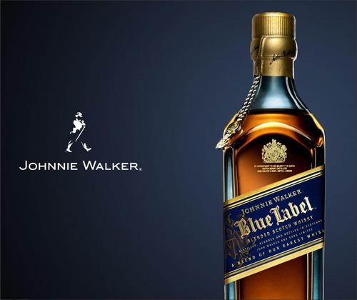 Adesivo Decorativo Whisky - Johnnie - Label - 2,50x2,10 Original