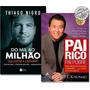 Kit Livro Do Mil Ao Milhão Pai Rico, Pai Pobre #primorico