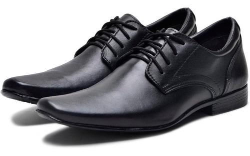 Sapato Social Masculino  Barato Italiano Preto Original