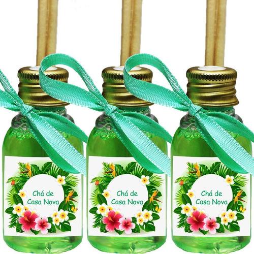 40 Mini Difusores 30ml Lembrancinha Maternidade Chá Fralda Original