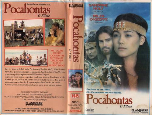 Pocahontas- Filme E Desenho 4 Versões