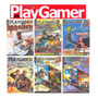 Play Gamer 6 Revistas Cd Rom Jogos Completos Para Pc