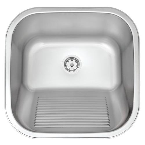 Tanque Lavar Encaixe Acetinado 23l 40x40 Tramontina 94403107