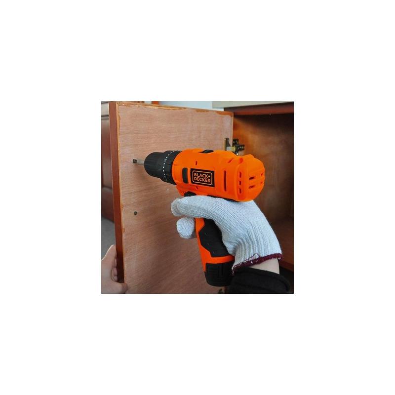 Kit - Furadeira de Impacto e Parafusadeira à Bateria - HP12 + Kit de Bits para Parafusadeira