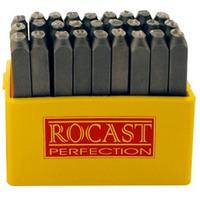 Punção alfabético 3.00MM 27 peças-Rocast